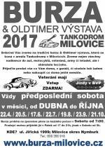 Burza a Oldtimer výstava tankodrom Milovice