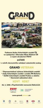 Grand Veteran - Oficiální otevření veteránské sezóny