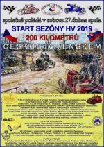 200 kilometrů Československem