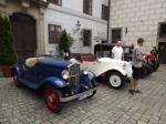 Veteráni na zámku v Třeboni