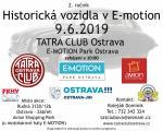 Historická vozidla v E-motion Ostrava