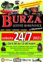 Auto-moto burza Bohuňovice u Olomouce