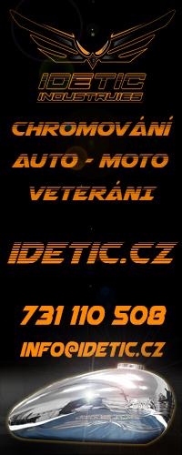 Chromování Auto-moto veteránů Idetic