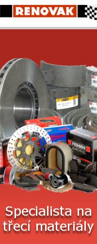 Renovak - brzdy, spojky, třecí materiály
