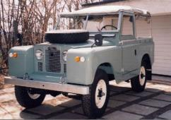 Land Rover 88 Série II a
