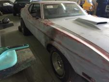 Ford Mustang Fastback, 1971, motor 5,8l Cleveland