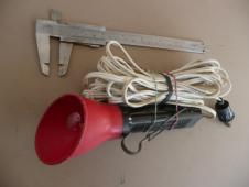 Dobová montážní retro autolampa