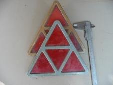 Odrazkové trojúhelníky na veterány