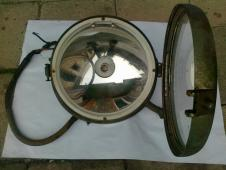 Dobové světlo - CARL ZEISS .Znak Daimler