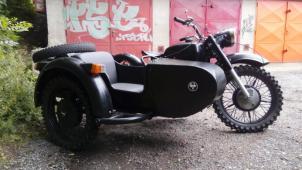 motocykl Dněpr MT9