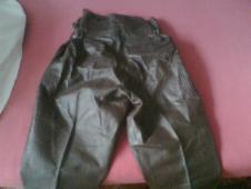 VB-policejní moto kalhoty kožené NOVE