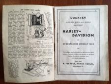 Příruční knížka HARLEY-DAVIDSON