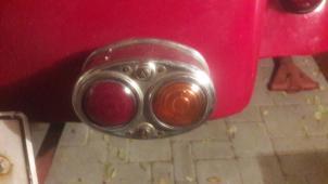 kontrolku, zadní lampu