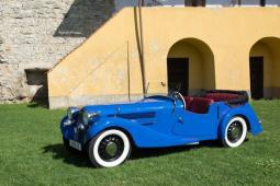 Aero 50 rok výroby 1937, po STK,na bílých značkách