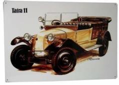 TATRA 11 - plechová cedule 400x280mm