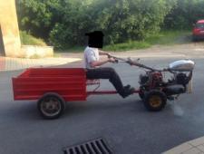 Malotraktor freza CZ rikša 175