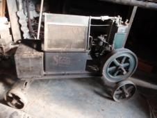 Souprava 3 strojů pro sklizeň obilí