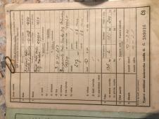 Prodám typové osvědčení BMW 250 z roku 1939