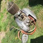 Prodám kostru + motor Jawa