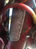 Koupím původní štítek na Jawa 350, typ 18