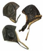 staré moto brýle, rukavice, kukly - veterán