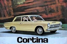 Díly Ford Cortina Mk1
