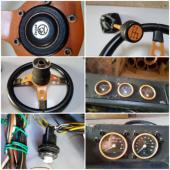 palubovka škoda 110R / deska volant panel