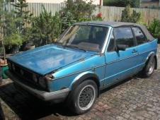VW  CABRIO GLS 1982