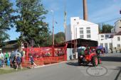 Historické traktory v Kropáčově Vrutici 2015