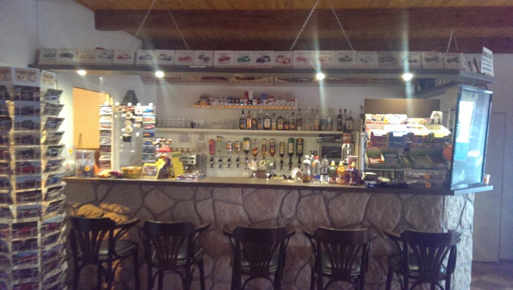 Automuzeum Terezín - bar