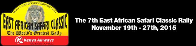 Logo East African Safari Classic Rally